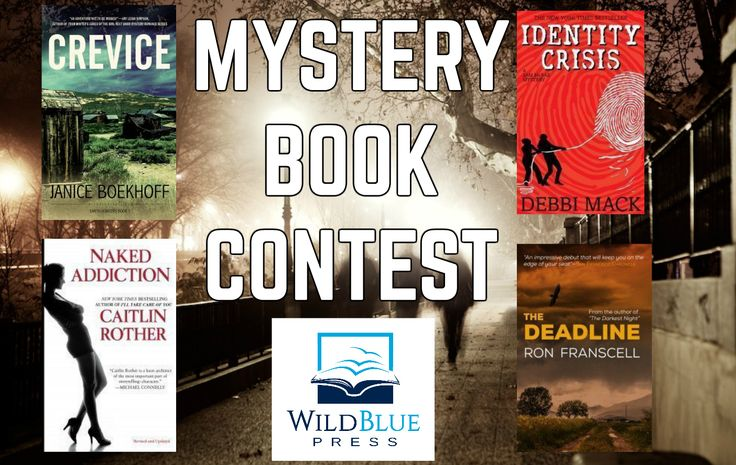 Enter the #contest to win four (4) #FREE #mystery #books from @WildBluePress! Share for more chances to win.