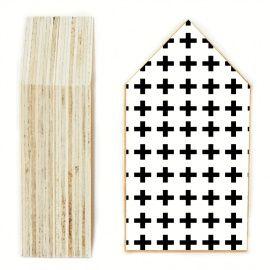 Huisje Patroon Kruis Medium via www.toefwonen.nl/c-2412982/huisjes-amp-prints/