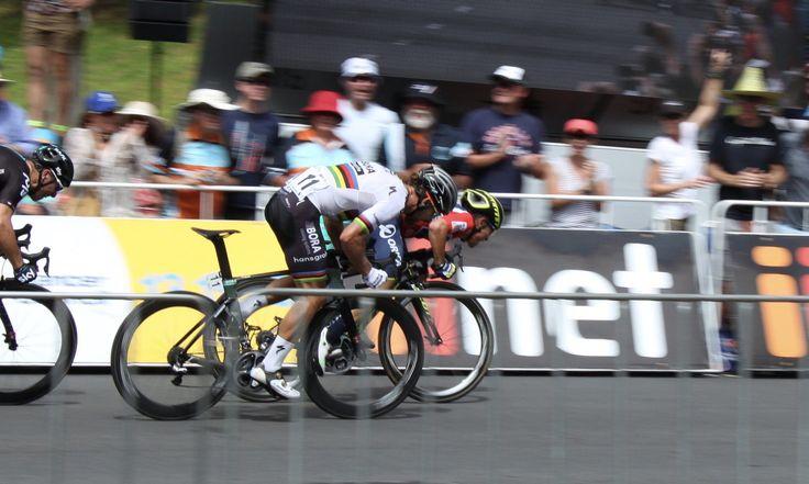 Peter Sagan vs Caleb Ewan | Tour Down Under 2017 | #Cycling #Speed #Xtreme #Sprint