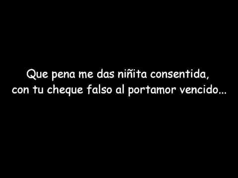 Melendi-Cheque al portamor (Letra) - YouTube