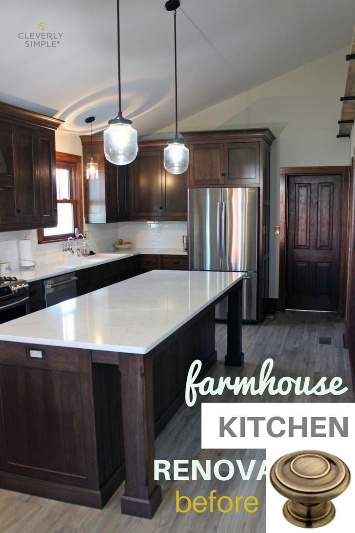 Dark Light Oak Maple Cherry Cabinetry And Kitchen Cabinets Non Wood Check The Image For Kitchen Renovation Dark Wood Kitchen Cabinets Dark Wood Kitchens
