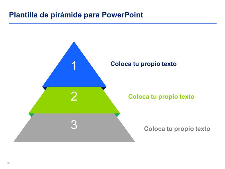 Piramide 3D Power Point | Modelo de Documentos Comerciales Ejemplos