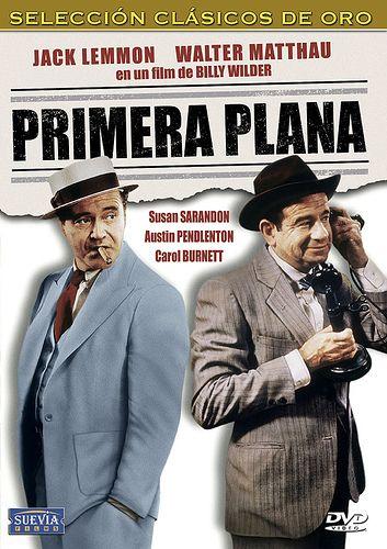 Primera plana (1974) EEUU. Dir: Billy Wilder. Comedia. Sátira. Xornalismo. Dereito - DVD CINE 1215
