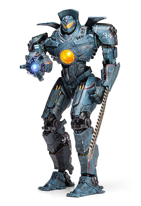 """This is pretty cool, and I loved the movie!  Pacific Rim 18"""" Gipsy Danger Deluxe Action Figure 