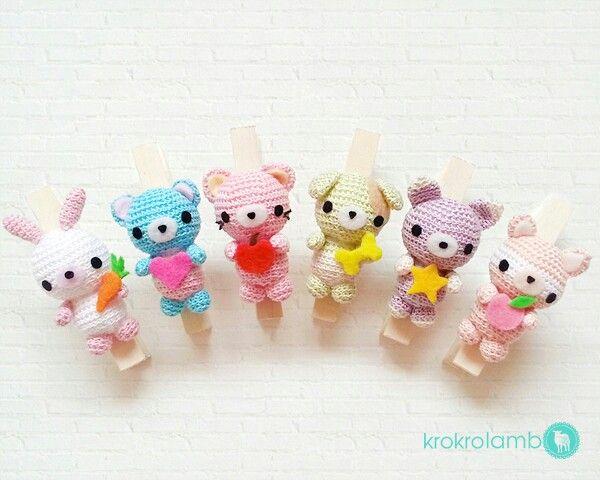 Cute Amigurumi Ideas : Cute chibi amigurumi pals Crochet Ideas Pinterest