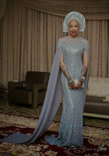 Nigerian bride.