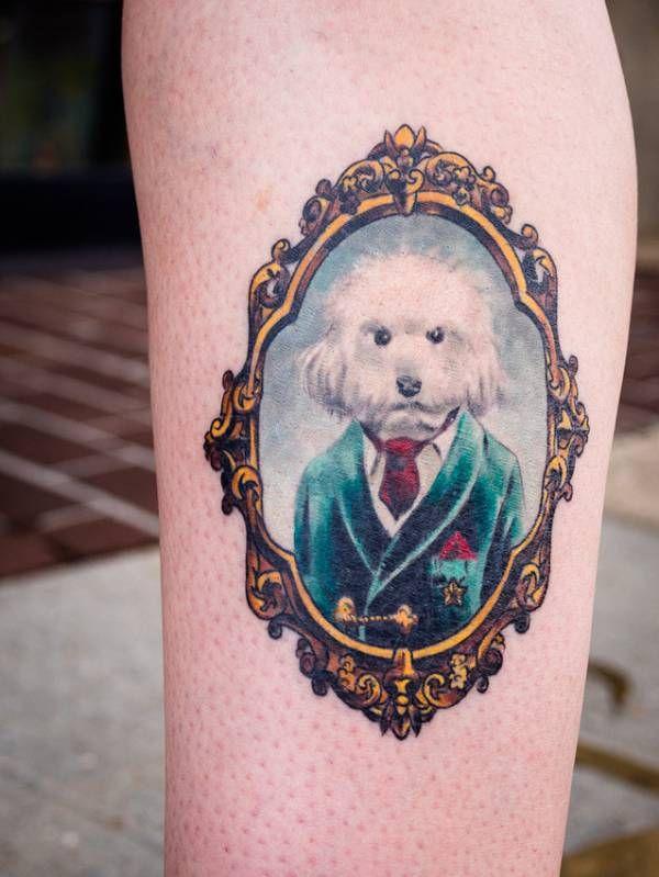 Tatuagem de Cachorros