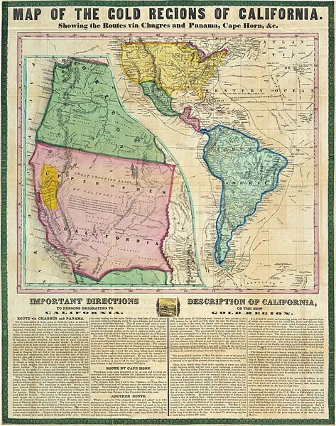 California Gold Rush Map.Calgoldrushmap Jpg 1416 1796, Gold Fields, Rush Maps, Gold Rush, California Gold, Cartography, Geography Geek, Wild West, File Calgoldrushmap Jpg