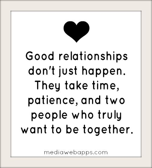 To Relationship Work I Make My Want few years