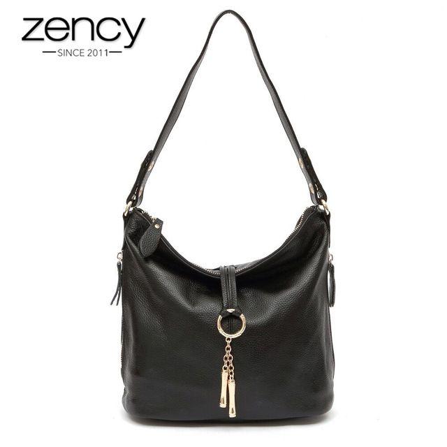 For Sale $39.80, Buy 2017 New Fashion Designer Metal Tassel 100% Real Genuine Leather Women Small Shoulder Tote Handbag Ladies Crossbody Bag Purse