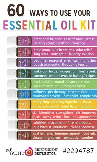 60 Ways to Use Essential Oils. Who knew there were sooooo many uses?  The possibilities are endless!
