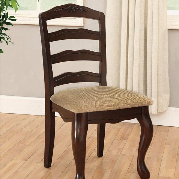 Townsville By Furniture Of America Cm3109sc Dk Chair Set Of 2