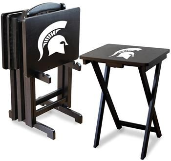 Use this Exclusive coupon code: PINFIVE to receive an additional 5% off the Michigan State University TV Trays at SportsFansPlus.com