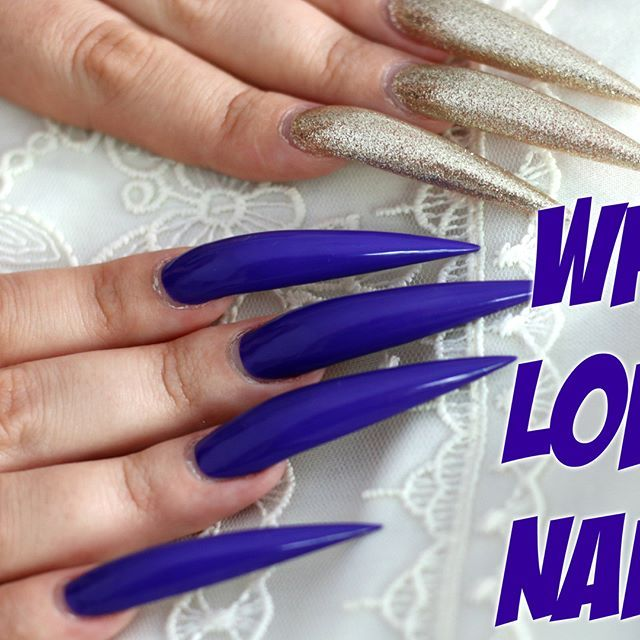 Good morning, instafamily! I am done filming my newest video, which answers the question everyone wants answered: WHY? Go to my youtube channel CosmeticSnob to find out why I am so in love with having long nails. Question: what is your favorite nail polish color for yourself?  #nailsdid #nailswag #manicure #stilettonails #myverylongnails #extremestilettonails #stilettosuicide #gelnaglar #acrylicnails #margaritasnailz #fiercesociety #bestoftheday #instamood #instablogger #beautyblogger…