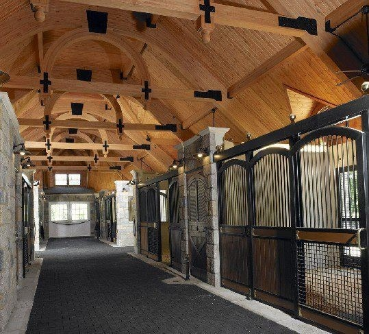 Indoor Riding Arena With Stalls: 8 Best Dream Barns! Images On Pinterest