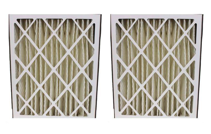 2 Lennox 20x25x5 MERV-8 Furnace HVAC Filters   Part # X6673