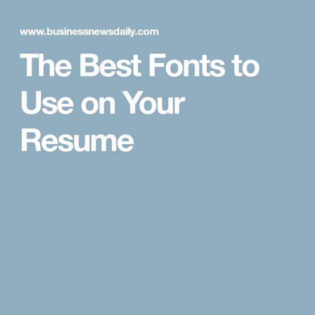 Best 25+ Resume fonts ideas on Pinterest Resume ideas, Resume - professional font for resume