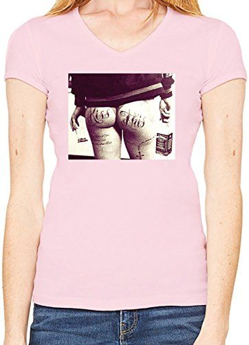 Kiss This Camiseta Cuello en V Mujeres Large #camiseta #realidadaumentada #ideas #regalo