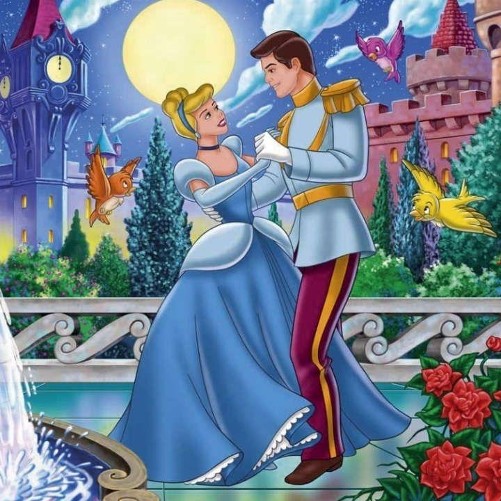 Принц и принцесса картинки из мультиков
