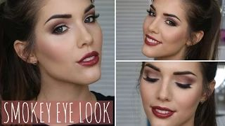 brown makeup - YouTube Love this look!~Am