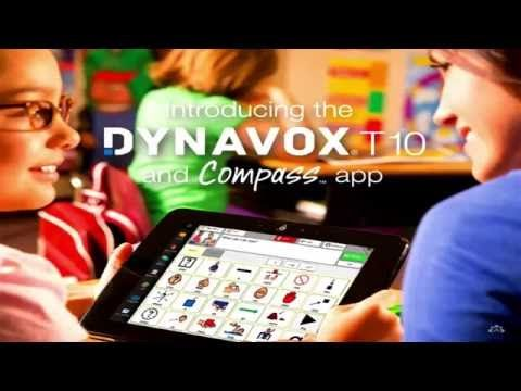 Introducing the DynaVox T10 and Compass App - YouTube