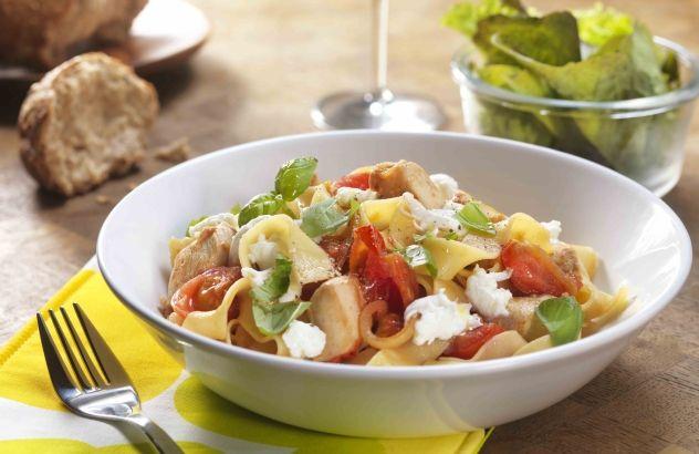 Italiaanse wok met konijnenfilets