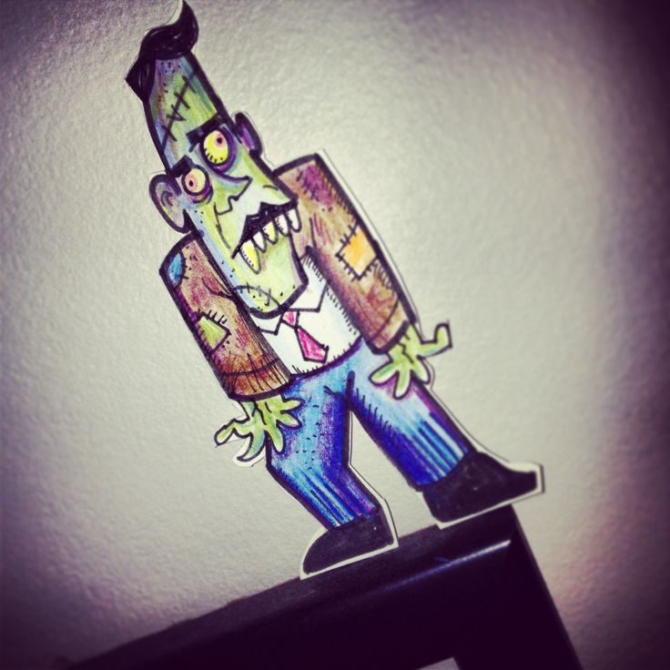 Halloween countdown creeps along with monster 28! #31monsterz @Josh McInerney