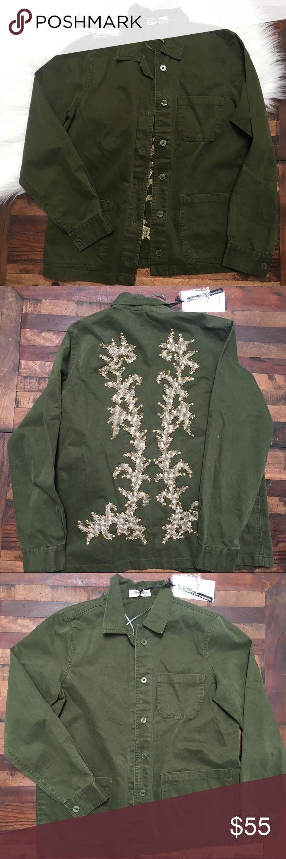 Zara jacket military style New with tags Zara Jackets & Coats