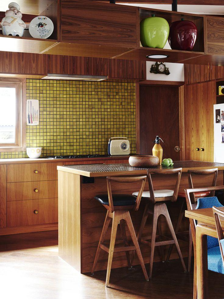 Best 25 mid century kitchens ideas on pinterest modern for Most modern kitchen design
