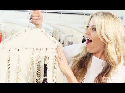 Jewelry Organization Tips & Taking Care of Costume Jewelry - MissLizHeart - YouTube