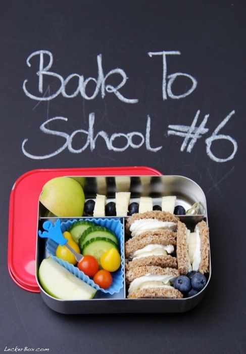 LeckerBox goes Back to School: PausenBox #6 mit Theo, der mir ein Bananenbrot macht…