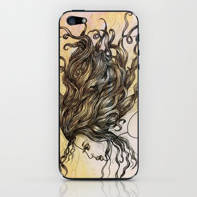 Under an unknown sky #iPhone & #iPod Skin by denthe - $15.00