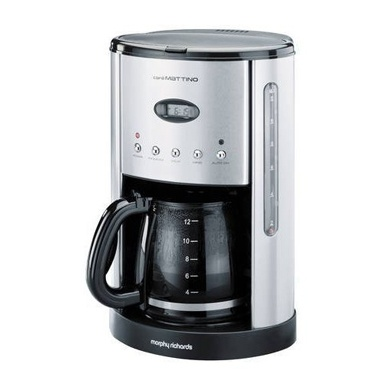 Morphy Richards Programmable Coffee Maker : Morphy Richards 47070 Cafe Mattino Filter Coffee Maker Coffee Machine Replacement Therapy ...