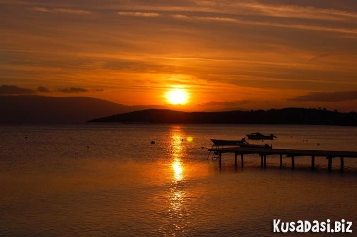 Turkish sunset.