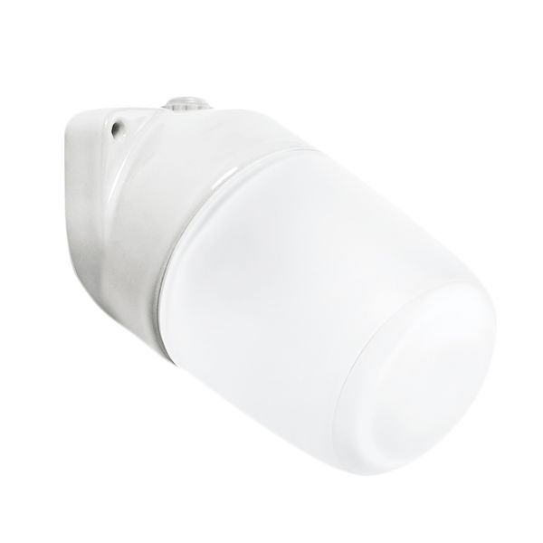 CERAMIC ANGLE WALL LIGHT FROSTED E27