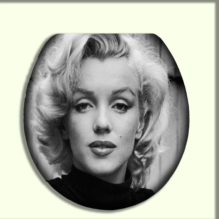 our marilyn monroe closeup design vintage style toilet seats pinterest toilets. Black Bedroom Furniture Sets. Home Design Ideas