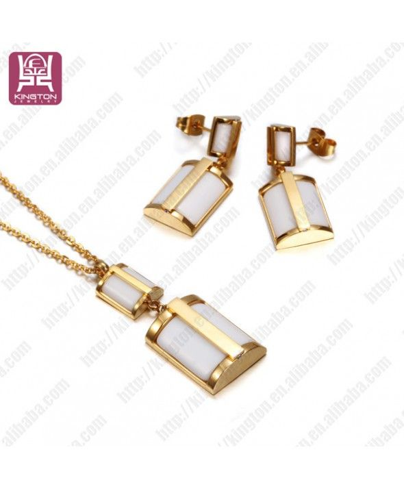 en acier inoxydable fahion coquille blanc collier colliers