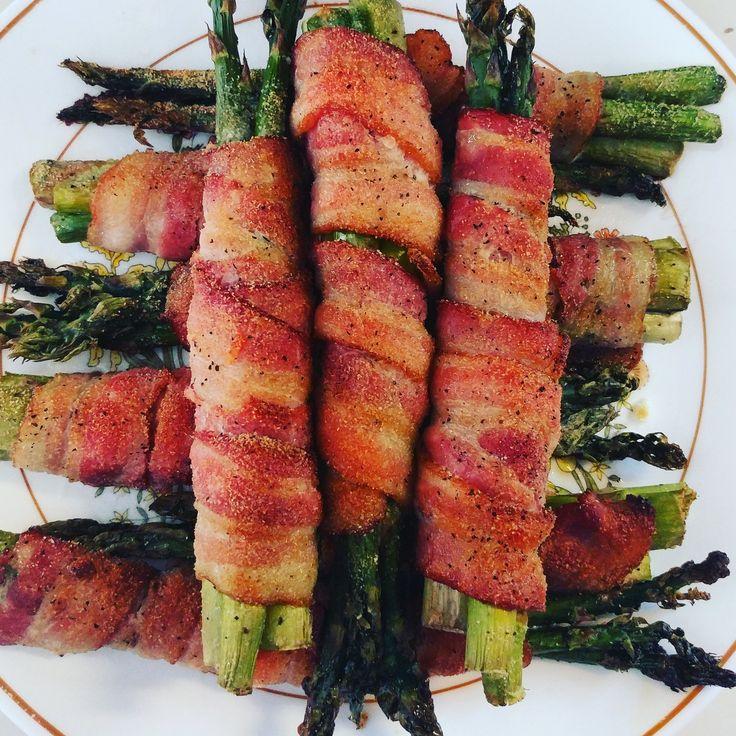Bacon Wrapped Asparagus - KetoDiet.Me KetoDiet.Me