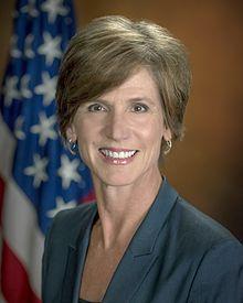 1/29/2017 DOJ: Sally Q. Yates, interim general attorney refuses to do her job. Wikipedia.