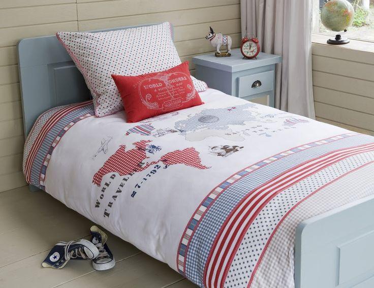 10 best boys bedding images on pinterest bedding decor comforter room seven world map duvet cover set gumiabroncs Gallery