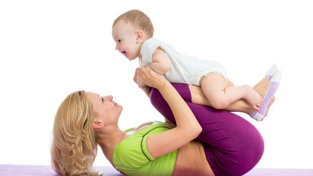 Come snellire il corpo e tonificare la pancia dopo la gravidanza - parte 2