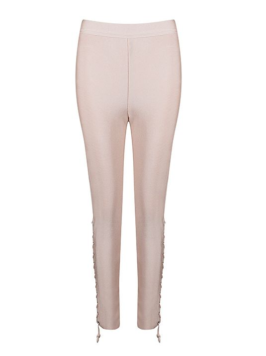 Court Nude Trousers