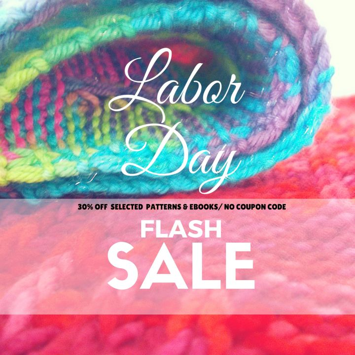 LABOR DAY FLASH SALE