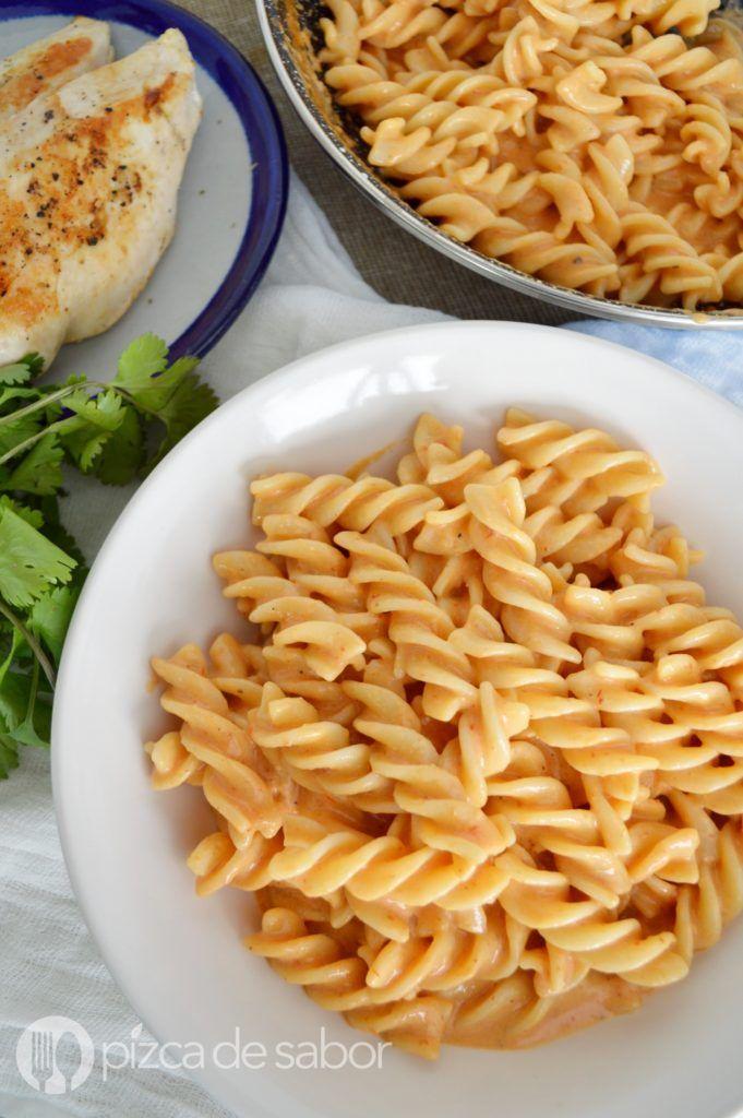 Pasta Al Chipotle Facil Rapida Pocos Ingredientes Muy Deliciosa Receta Recetas De Comida Faciles Recetas Comida Rapida Recetas De Comida