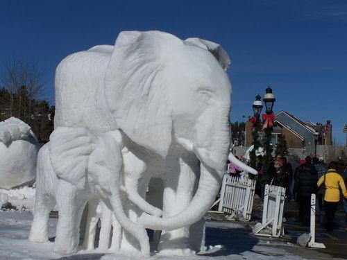 2012 Breckenridge Snow Sculpture