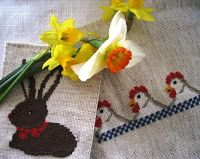 De Borduurvrouw: Borduren voor Pasen