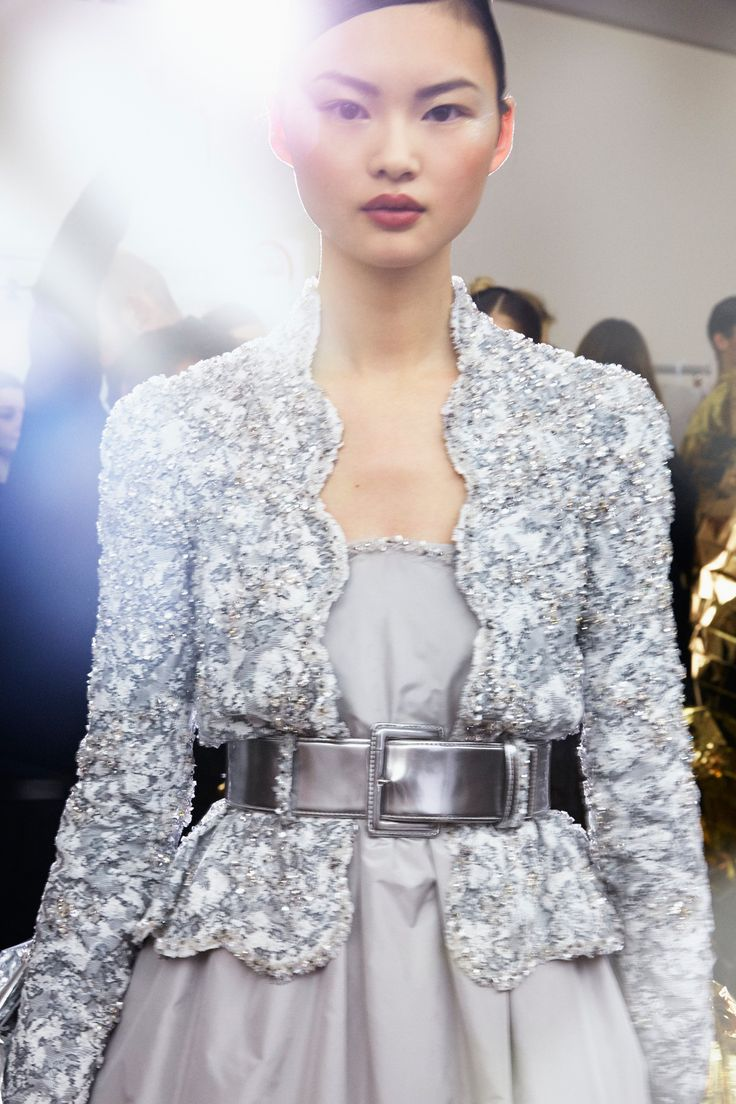 15 Stunning Backstage Photos from the Chanel Haute Couture Show - Backstage at Chanel Haute Couture from InStyle.com