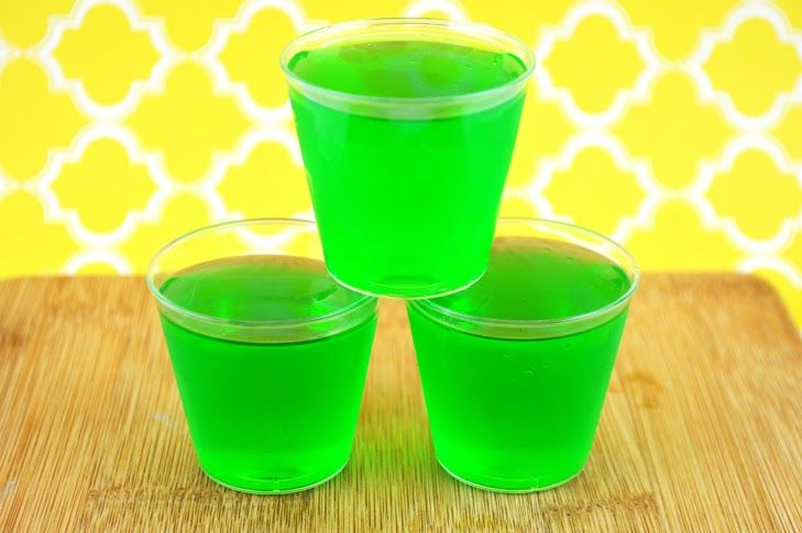 Be the hit of the summer with these cool, refreshing lime jello shots made with tequila. Try it with other Jello flavors, too!