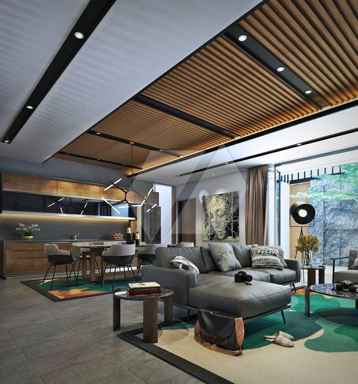 Desain ruang keluarga keren dan stylish | Portofolio By : Dimas Daforza (Interior Designer di Sejasa.com)