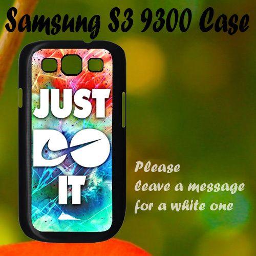 Nike Cracked Out Galaxy Nebula Samsung S3 i9300 Case, Plastic Case, Best Case